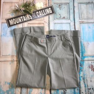 GAP Outlet Gray Wide Leg Stretch Pants Size 4